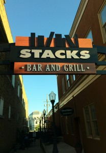 Check out Stacks in downtown Valparaiso.