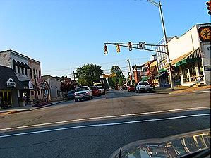 Middlebury, Indiana Downtown Courtesy of Mark Bajek/Flickr