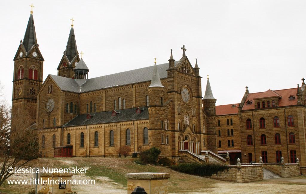 Saint Meinrad Archabbey in St Meinrad, Indiana