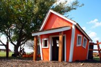 Harvest Tyme Pumpkin Patch in Lowell, Indiana: Crooked House