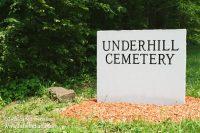 Underhill Cemetery in Saint Croix, Indiana