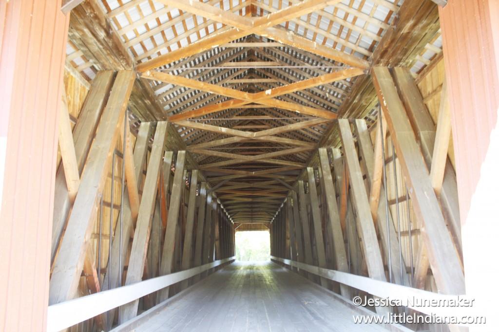 Indiana Covered Bridges Busching Bridge In Versailles