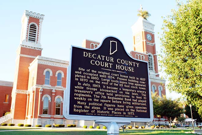 Decatur County Courthouse In Greensburg Or What S Up With