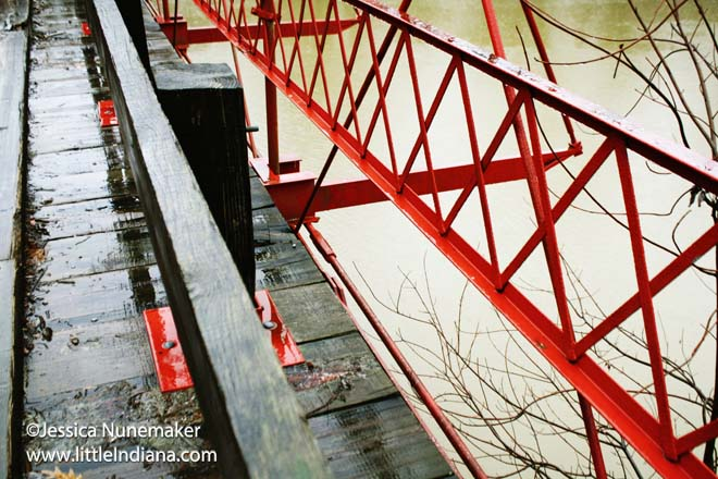Boner Bridge in Hatfield, Indiana