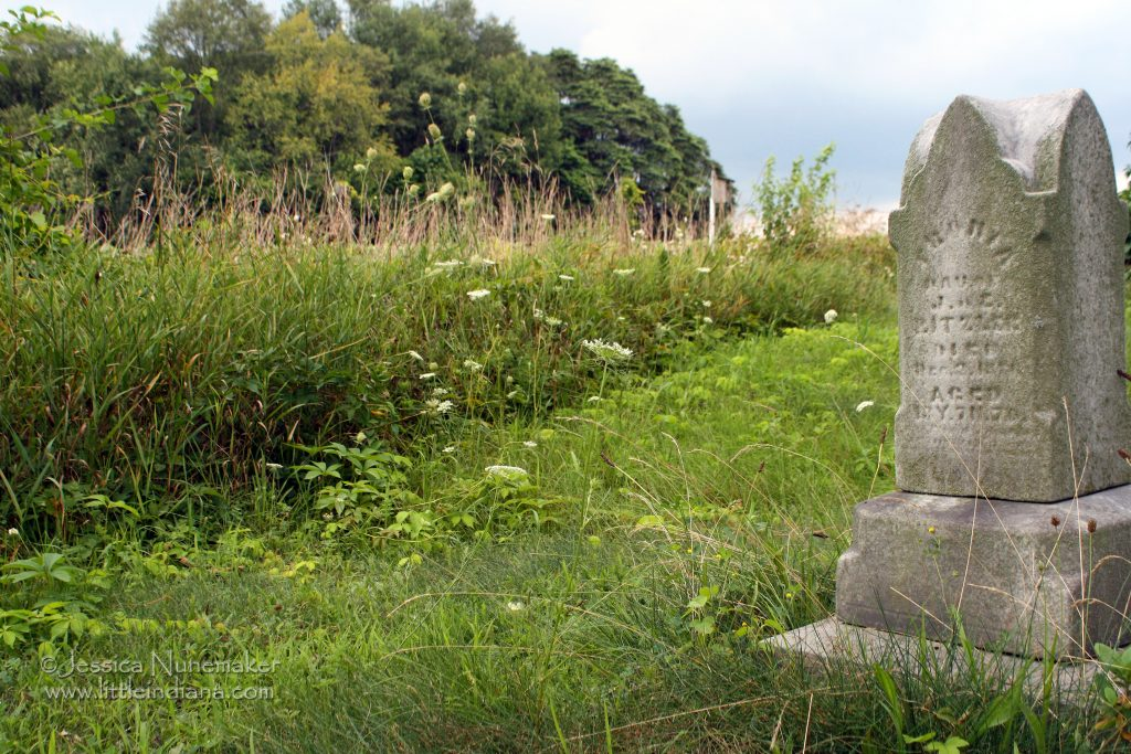 Indiana Cemetery: Hindel/Hindle/Inwood Cemetery in Inwood, Indiana