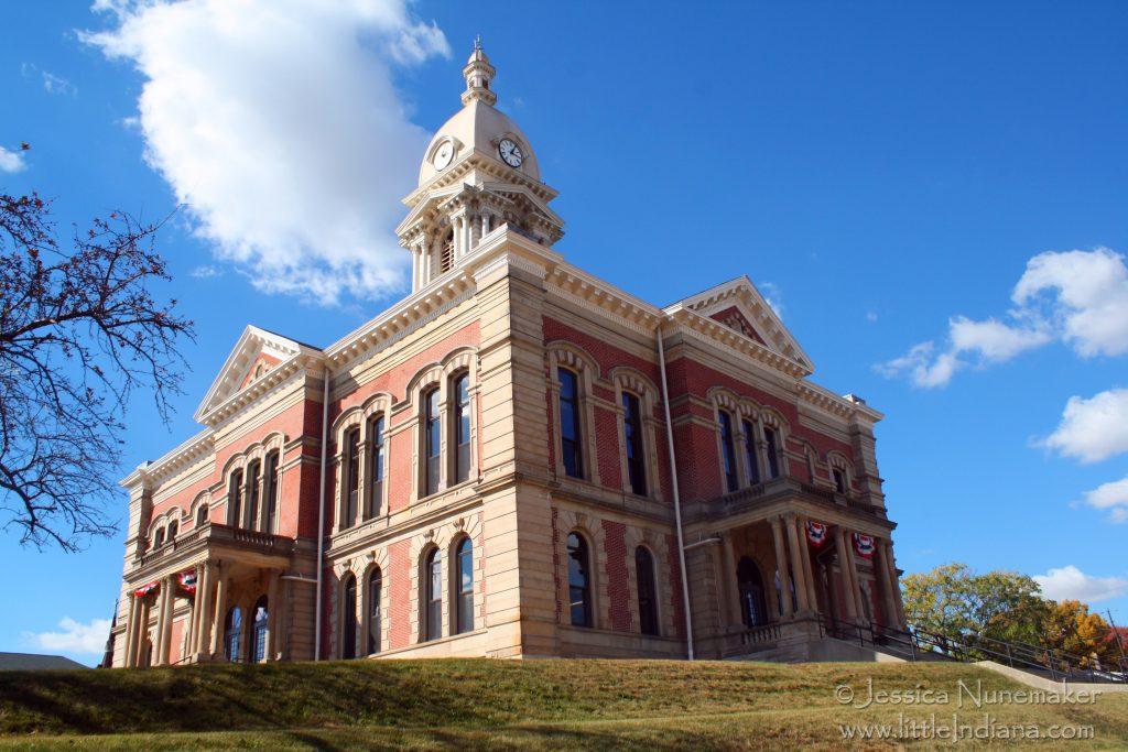 Wabash County Courthouse in Wabash, Indiana