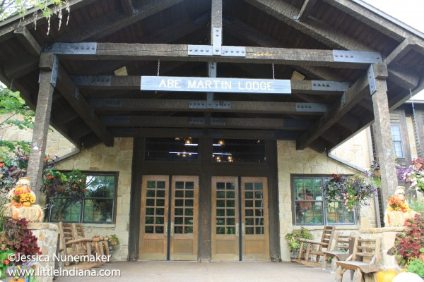 Abe Martin Lodge at Brown County State Park in Nashville, Indiana