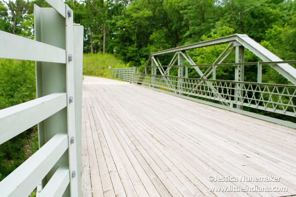 Circle Trail Bridge in Covington, Indiana
