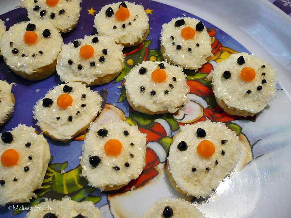 Snowmen Cookies Recipe