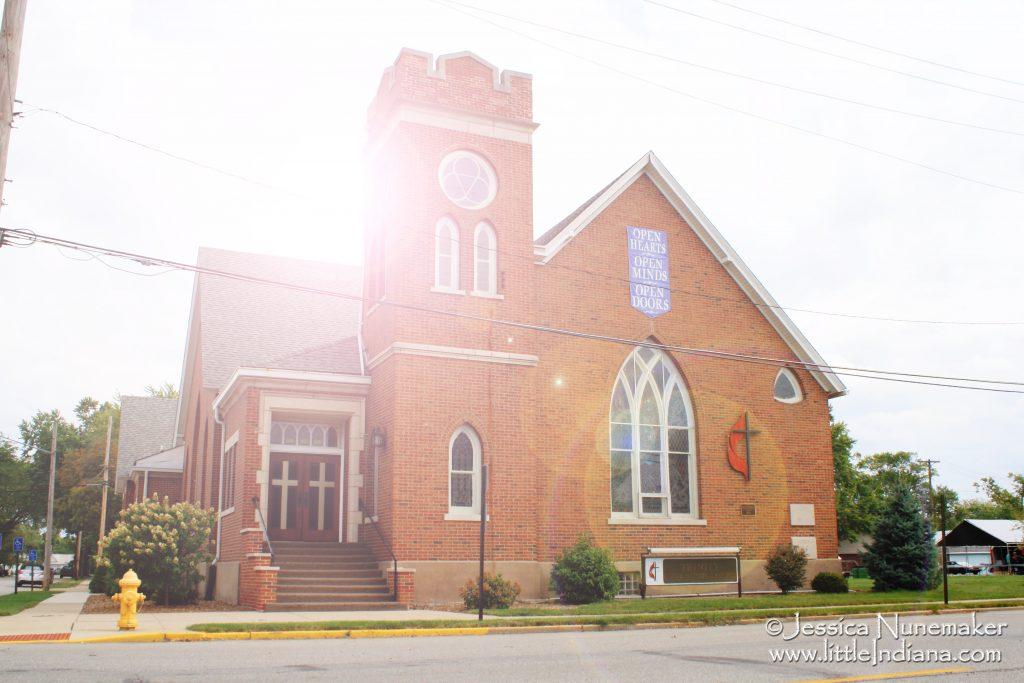 Trinity United Methodist Church in Rensselaer, Indiana