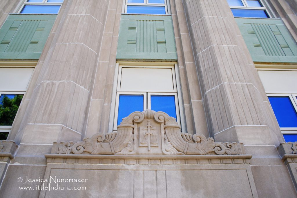 Fountain County Courthouse: Fountain, Indiana