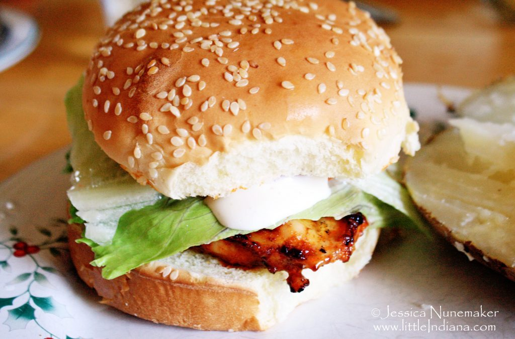 Grilled Buffalo Chicken Sandwich Recipe