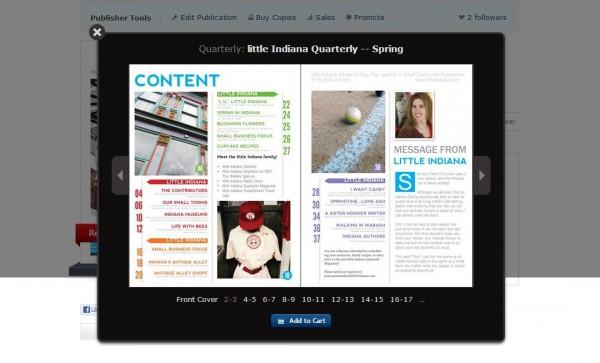 little Indiana Quarterly Magazine SPRING Edition