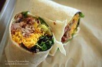 Jefferson Street Barbecue in Converse, Indiana Pulled Pork Wrap