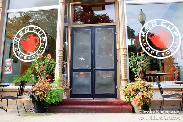 Red Cup Cafe in Chesterton, Indiana Exterior