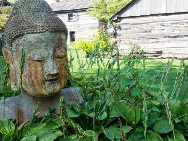 Wayne County Museum in Richmond, Indiana Buddha Head