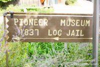 1979 Log Jail in Nashville, Indiana