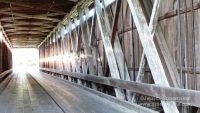 Cumberland Covered Bridge in Matthews, Indiana