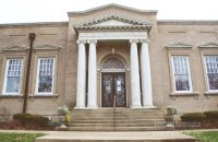 Carnegie Library in Attica, Indiana Exterior