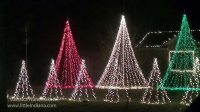 Kniman, Indiana Christmas Lights House