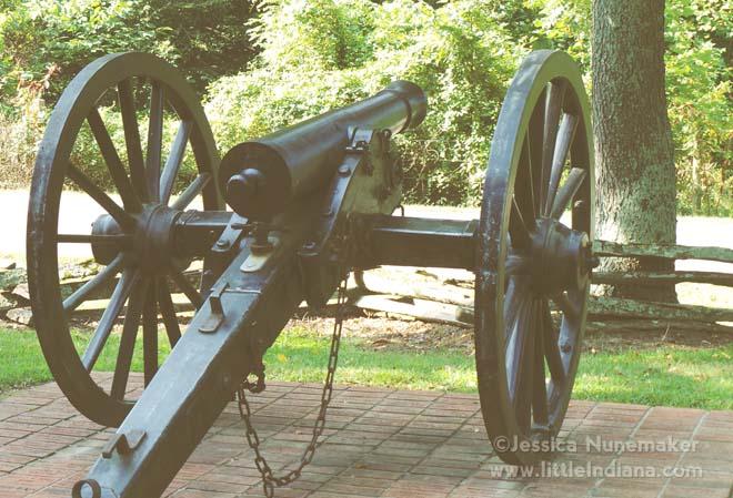 Battle Park in Corydon, Indiana