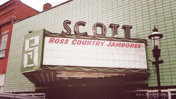 Downtown Scottsburg, Indiana