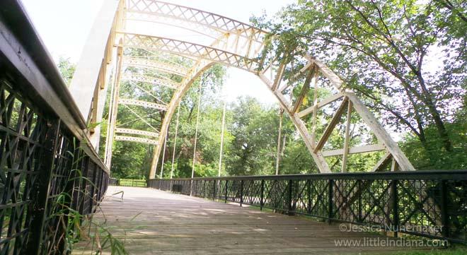 Dunns Bridge in Kouts, Indiana