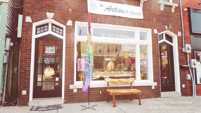 Artisan Center in Corydon, Indiana