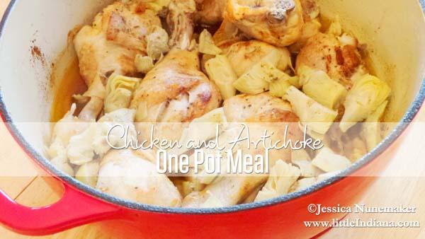 Chicken and Artichoke One Pot Meal Recipe