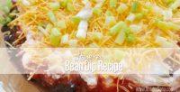 Easy Layered Bean Dip Recipe
