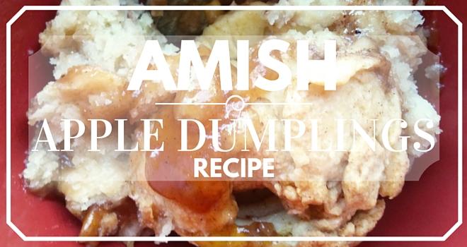 Amish Apple Dumplings Recipe