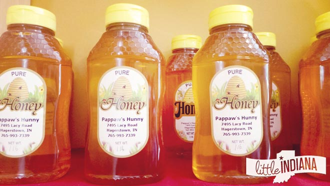 Pappaw's Hunny Farm Market Hagerstown, Indiana