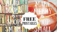 Free Shop Small Printables