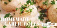 Recipe for Homemade Garlic Rolls