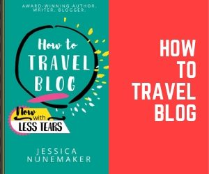 Learn how to travel blog with this book